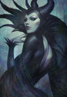 "Maleficent by Stanley ""Artgerm"" Lau"