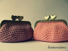 hamoraima: Monederos de crochet II