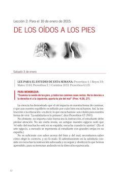 Leccion adultos de los oidos a los pies by Escuela Sabatica via slideshare #LESAdv Descargue aqui: http://gramadal.wordpress.com/