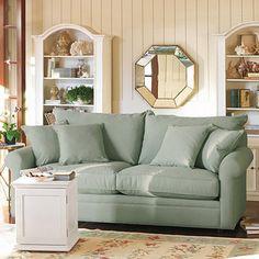 Newport Queen Sleeper from Ballard Designs- love this room