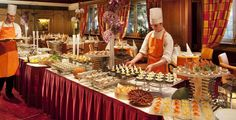 hotel buffet table - Google Search