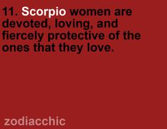 Zodiac Facts- I'm a Scorpio and this is so true!