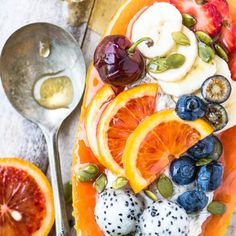 #delicious Papaya Breakfast Boats #foodie