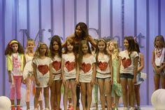 Pitti Bimbo 2012: Miss Grant sfila con la collezione S/S 2013, stile bon ton rock, le foto