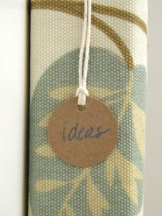 homework: today's assignment - be inspired {creative inspiration for home and life}: Etceteras: new year organizing {fabric binder}