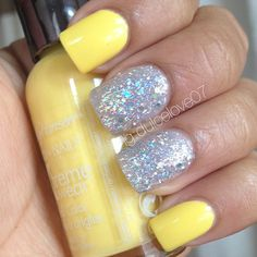 Yellow mellow by Sally & Which is Witch OPI  - @ dulcelove07