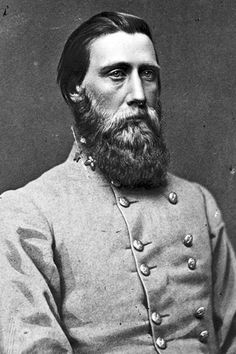 Civil War Photo CSA Confederate General John Bell Hood. A ferocious fighter....known, even in his day, for those sad looking eyes.