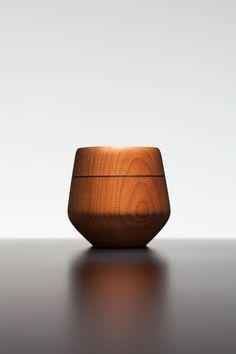 La tasse à espresso Baron en bois pour collectionneur, édition limité