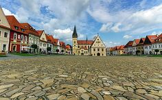Old Town Square In Bardejov, Slovakia by Elenarts - Elena Duvernay photo Old Town Square, Travel Around Europe, Famous Places, Photos Du, Travel Photos, Fine Art America, Photo Art, Framed Prints, Urban