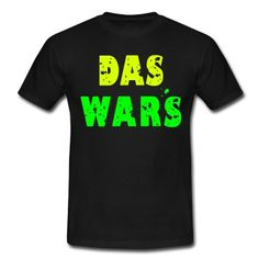 Männer T-Shirt mit deckorativer Schrift. http://www.spreadshirt.de/user/spontania
