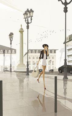matthieuforichon:  Nous avions rendez-vous Place Vendôme…