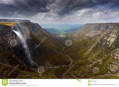 nervion waterfall spain. Wonderful