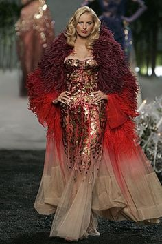 See the complete Christian Dior Fall 2005 Couture collection.