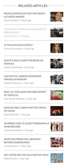 Related Articles from Bustle › PatternTap
