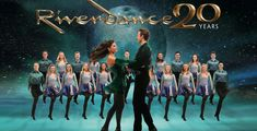 RIVERDANCE - I'VE SEEN IT 4 TIMES - A celebration of Irish music, song and dance, the show focuses on the evolution of Irish dance and its similarities with, and influences on, other cultures. Chicago Attractions, Theatre Reviews, Eurovision Songs, Irish Traditions, Irish Dance, 20th Anniversary, Live Music, Atlanta, How To Memorize Things