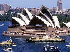 """Get up close to the Sydney Opera House and learn about its rich history. Take an afternoon stroll beneath the famous white sails and capture photos on its monumental steps. And , the Opera House has also announced a new outdoor concert series for the Australian summer called """"On the Steps."""""""