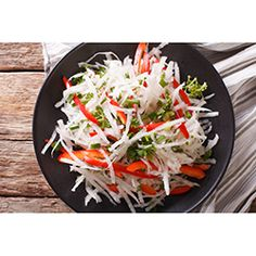 Buy ingredients for Mooli Salad online from Spices of India - The UK's leading Indian Grocer. Free delivery on Mooli Salad Ingredients (conditions apply). Cooking Time, Cooking Recipes, Indian Food Recipes, Ethnic Recipes, Fresh Coriander, Chaat, Salad Ingredients, Red Peppers, Caprese Salad