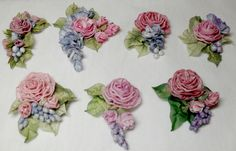 Lambs and Ivy Designs: Ribbon work , Christmas, and I am already behind!