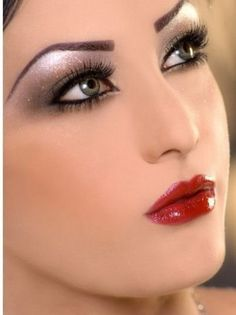 Wedding Makeup Eyes And Eyebrows great for holiday parties too!