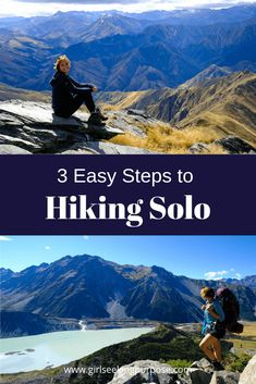 Hiking Solo: Three Steps to Confidently Hike Solo – Best Travel images in 2019 Hiking Essentials, Hiking Tips, Best Hikes, Day Hike, Ireland Travel, Solo Travel, Travel Tips, Lake View, Travel Images