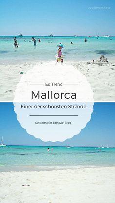 weißer Sand, türkisblaues Wasser - das ist der Naturstrand Es Trenc auf Mallorca - einfach traumhaft. Insidertipp, Reisetipp