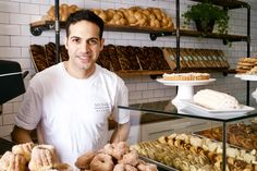The new bakery from Adir Michaeli, formerly at Breads Bakery, offers babka, challah, and rugelach Lower East Side Nyc, Vegan Doughnuts, Small Bakery, Black And White Cookies, Log Cake, Nyc Restaurants, Jewish Recipes, Executive Chef, Challah