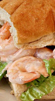 Zesty Shrimp Po Boys. I would eat this over lettuce as a salad.