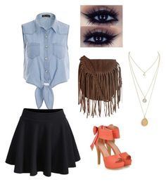 """""""Back to School @rileyadewiit contest"""" by sydneyhuber on Polyvore featuring JY Shoes and Glamorous"""