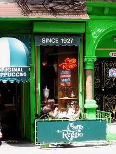 Caffe Reggio, Greenwich Village   Flickr - Photo Sharing!