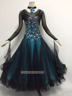 Ballroom Competition Dance Dresses Lady High Quality Flamenco Waltz Dancing Skirt Women's Standard Ballroom Dress.