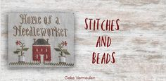 stitches and beads Cross Stitch Embroidery, Dan, Beads, Decor, Beading, Decoration, Bead, Pearls, Seed Beads