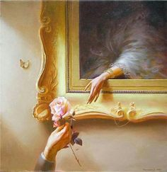 Valentin Rekunenko, 1955 - My Gallery of Paintings - Art Renaissance Kunst, Renaissance Paintings, Aesthetic Drawing, Aesthetic Art, Angel Aesthetic, Vintage Stickers, Art Sketches, Art Drawings, Decoration Photo
