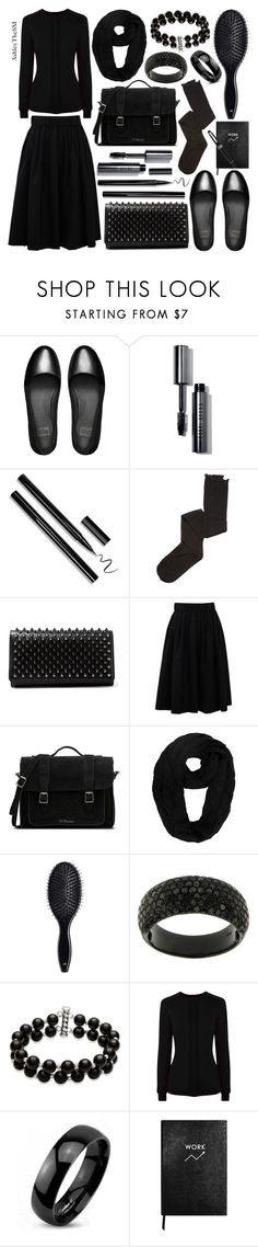 """""""just bite me"""" by ashleythesm ❤ liked on Polyvore featuring FitFlop, Bobbi Brown Cosmetics, Intimately Free People, Christian Louboutin, Brunello Cucinelli, Dr. Martens, H&M, Belk & Co., HotSquash and West Coast Jewelry"""