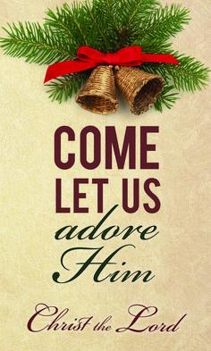 Church Banner - Christmas - Adore Him Christmas Jesus, Christian Christmas, Christmas Nativity, Christmas And New Year, Christmas Time, Christmas Crafts, Christmas Decorations, Xmas, Christmas Ornaments