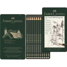 Bleistift CASTELL 9000 12er Design Set Ca. 16,80€
