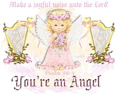 Bible verses photo: Bible Verses youranangelpink.gif