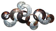Going in Circles Abstract Metal Wall Art $449.95 - Buy online Earth de Fleur Homewares