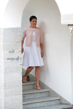 Swedish Crown Princess Victoria on her 37th Birthday celebrations at Solliden on 14.07.2014 in Oland, Sweden.