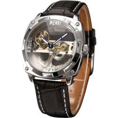 """Main Features:- Present by Kronen&Söhne group, Royal Carving series.- Designed by renowned German Watch Maker """"Mr. Cool Gadgets, Watches For Men, Luxury, Bridge, Silver, Skeleton Sport, Accessories, Black, Magazine"""