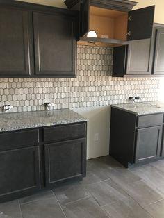 Burano 12x13 listel Decor, Home Interior Design, Cabinet, Interior, House, Kitchen, Saratoga Homes, House Interior, Kitchen Cabinets