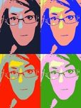 Crazy Photo Booth free app. Great for Pop Art lessons
