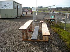 wooden bleachers | Projects » Eugene RC Aeronauts