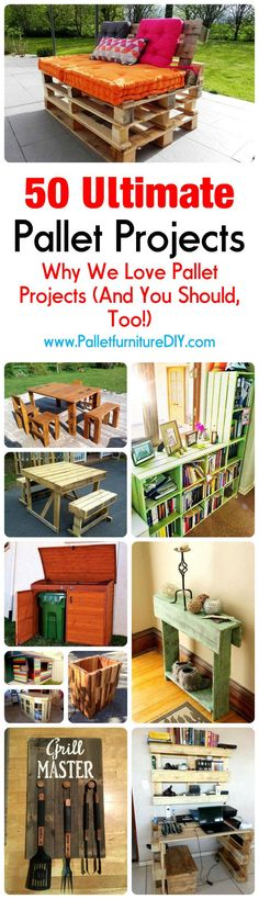Why We Love Pallet Projects (And You Should, Too!) | Pallet Furniture DIY