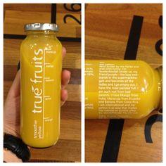 true fruits smoothie yellow - english hour II