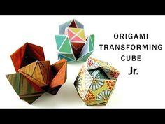 吉本キューブ【折り紙】 Origami Yoshimoto Cube - YouTube