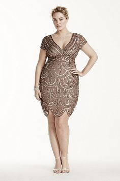 Plus Size Gatsby Dresses
