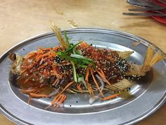 Deep-fried Sweet & Sour Fish (catfish)