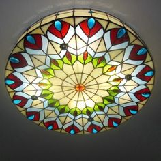 Tiffany flush mount ceiling light 118 inch diameter hardware buy 16 inch round shade peacock stained glass tiffany 3 light flush mount ceiling light with lowest price and top service aloadofball Gallery