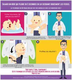 Infographie pour calmer les pleurs de bébé Baby Education, Baby Hacks, Coaching, Maternity, About Me Blog, Baby Boy, Family Guy, Baby Shower, Kids