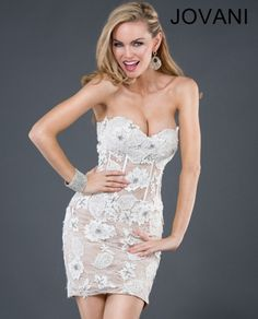 Jovani Short Dress 72638